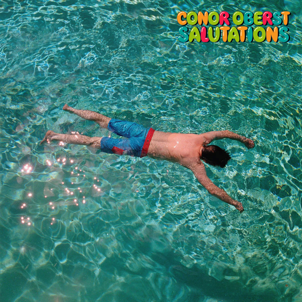 Cover art, Conor Oberst, album Salutations