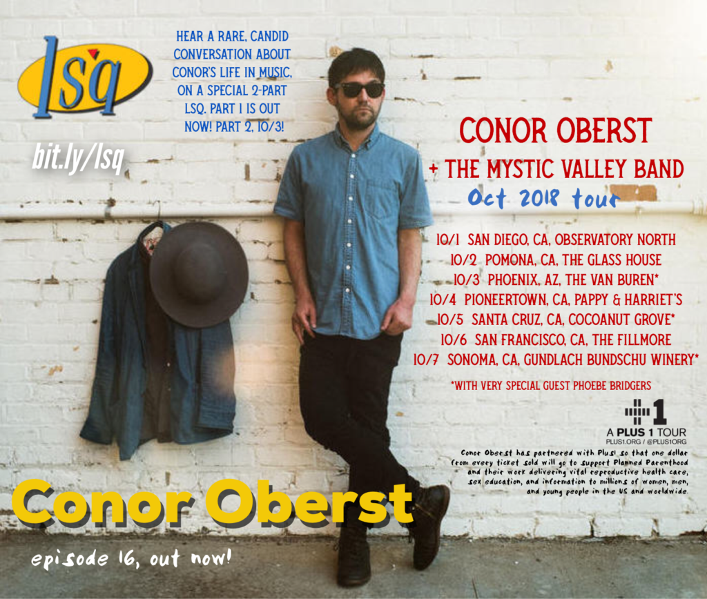 Conor Oberst on LSQ pod